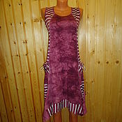 """Одежда ручной работы. Ярмарка Мастеров - ручная работа Платье-сарафан """"Жаклин"""" (Большие размеры). Handmade."""