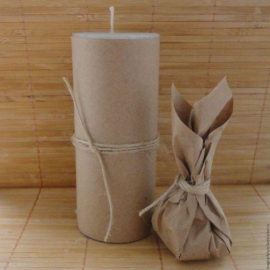 """Свечи ручной работы. Ярмарка Мастеров - ручная работа. Купить Свеча """"Очищающая"""" с четверговой солью. Handmade. Магические свечи"""
