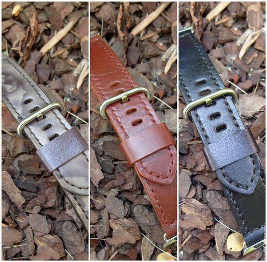 Часы ручной работы. Ярмарка Мастеров - ручная работа. Купить Ремешок для часов (Apple Watch Leather Band ). Handmade.