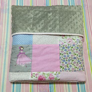 Товары для малышей ручной работы. Ярмарка Мастеров - ручная работа Одеяло для девочки. Handmade.