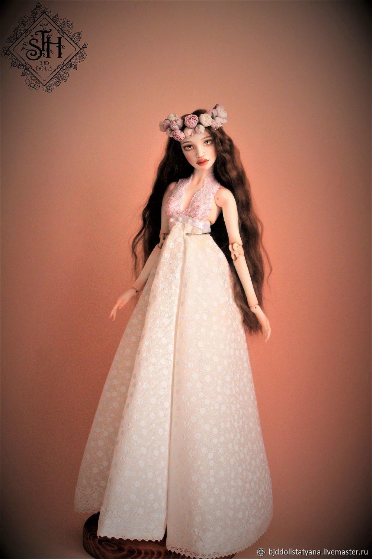 Любава. Фарфоровая шарнирная кукла, Шарнирная кукла, Санкт-Петербург,  Фото №1