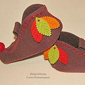 Обувь ручной работы. Ярмарка Мастеров - ручная работа Тапочки гнома. Handmade.