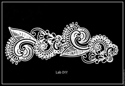 Другие виды рукоделия ручной работы. Ярмарка Мастеров - ручная работа. Купить Арт. К0007. Handmade. Белый, Фурнитура для шкатулок
