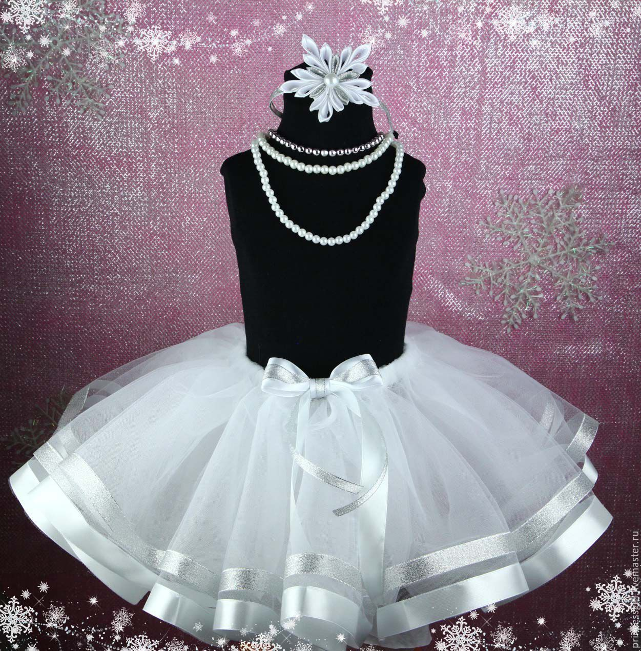Skirt-tutu with a wrap snowflake, Skirts, Moscow,  Фото №1