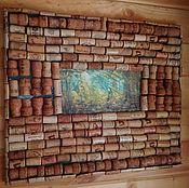 Картины и панно ручной работы. Ярмарка Мастеров - ручная работа Пано из пробок. Handmade.