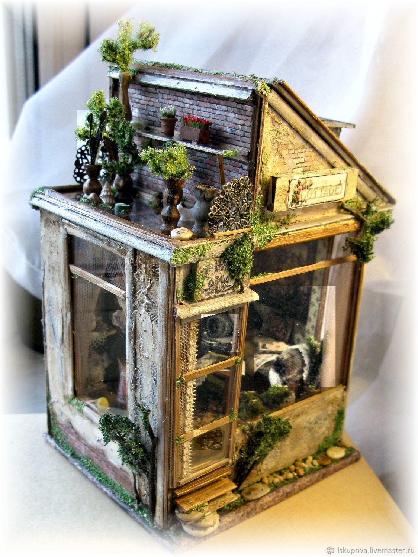 """Миниатюра """"Дом с садом на крыше"""", Кукольные домики, Москва,  Фото №1"""