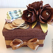 Сувениры и подарки ручной работы. Ярмарка Мастеров - ручная работа Сладкий подарок мужчине с сюрпризом. Handmade.