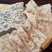 Аксессуары ручной работы. Ярмарка Мастеров - ручная работа Подвязка невесты и подушечка для колец в стиле Shabby chic. Handmade.