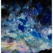 """Картины и панно ручной работы. Ярмарка Мастеров - ручная работа панно """" Чувство тишины"""". Handmade."""