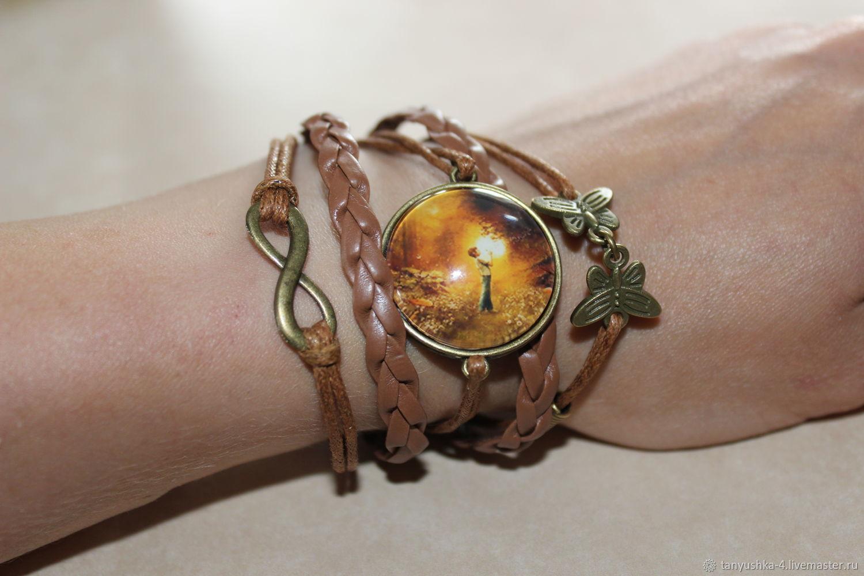 'Dandelion wine'. bracelet, Bead bracelet, Ufa,  Фото №1