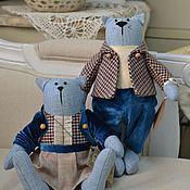 Куклы и игрушки ручной работы. Ярмарка Мастеров - ручная работа Пара британских котиков. Handmade.