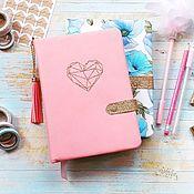 Блокноты ручной работы. Ярмарка Мастеров - ручная работа Бэйбибук (Babybook) для девочки. Handmade.