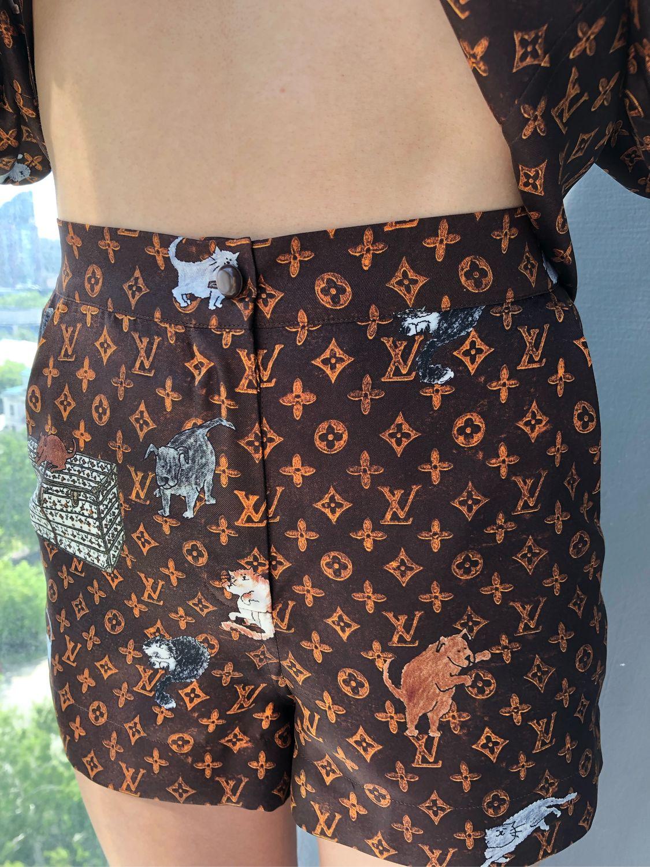 7ffe460f3773f Пижамный костюм с шортами «Louis Vuitton» – купить в интернет ...