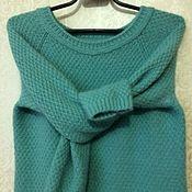 Одежда ручной работы. Ярмарка Мастеров - ручная работа Берюзовый свитер. Handmade.