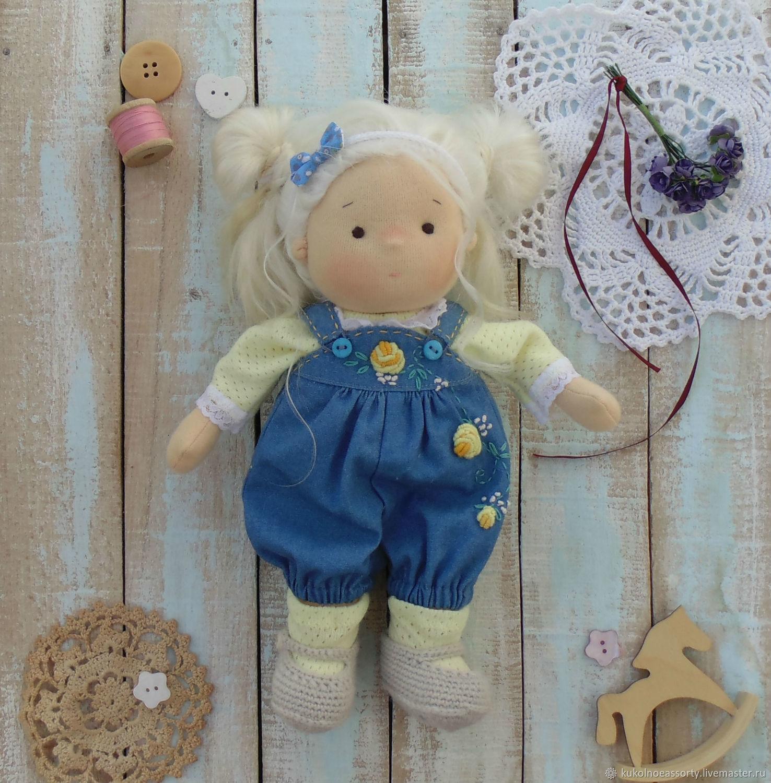 Вальдорфская кукла Иришка ( 25 см), Вальдорфские куклы и звери, Североуральск,  Фото №1