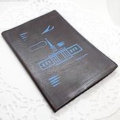 Винтаж handmade. Livemaster - original item Notebook with the alphabet of the USSR. Handmade.