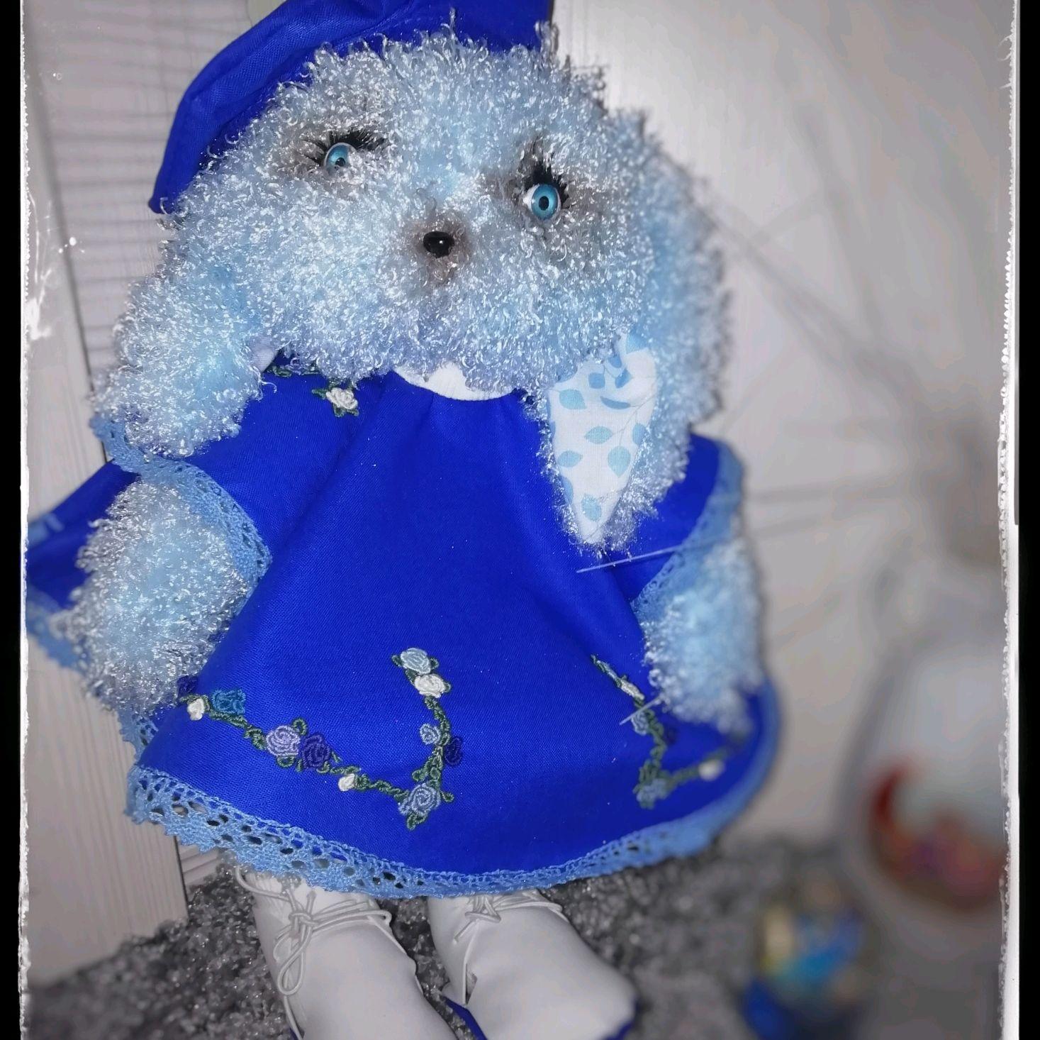 Мягкий зайчик, Вальдорфские куклы и звери, Волгоград,  Фото №1