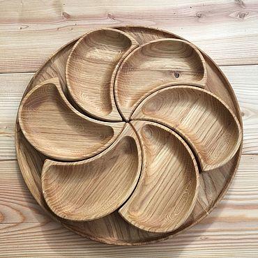 Для дома и интерьера ручной работы. Ярмарка Мастеров - ручная работа Тарелки под закусочки. Handmade.