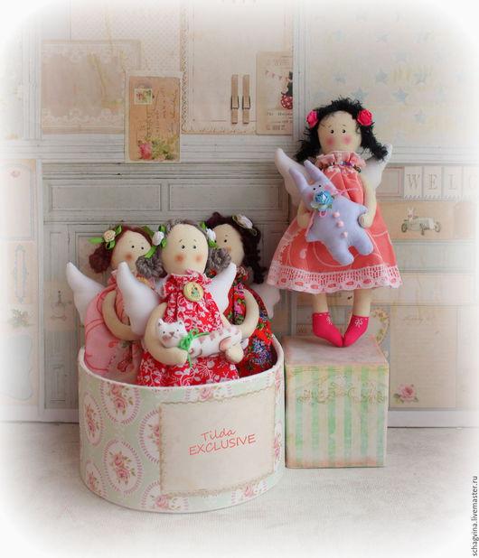Сказочные персонажи ручной работы. Ярмарка Мастеров - ручная работа. Купить Малютки-ангелочки. Handmade. Принцесса, ангел, шебби-шик