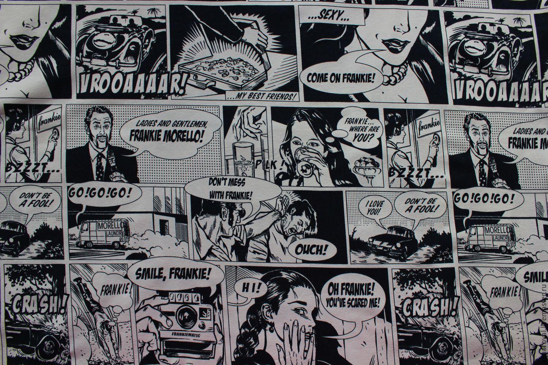 Чёрно белые комиксы 13 фотография