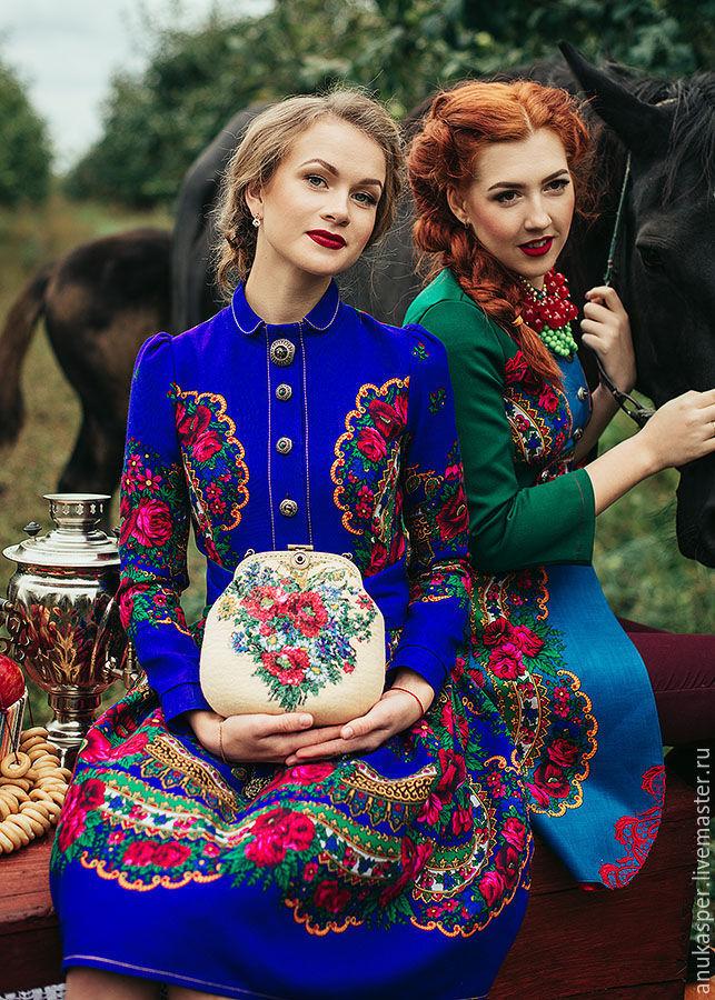 современная одежда в русском стиле фото быть
