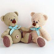 Куклы и игрушки ручной работы. Ярмарка Мастеров - ручная работа Вязаная игрушка Мишка. Handmade.