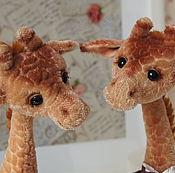 """Куклы и игрушки ручной работы. Ярмарка Мастеров - ручная работа Выкройка жирафа """"Мариус"""". Handmade."""