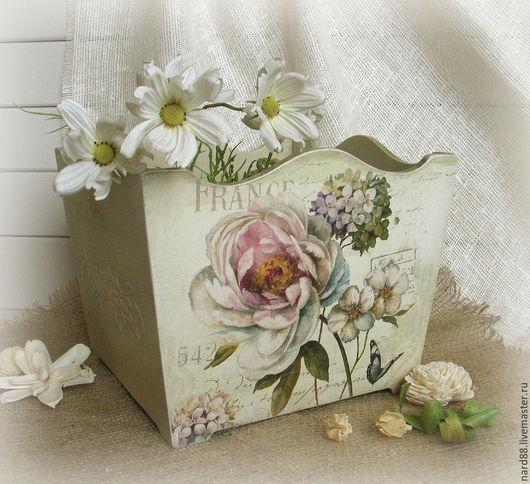 Короб для хранения Короб ручной работы Кашпо для цветоа