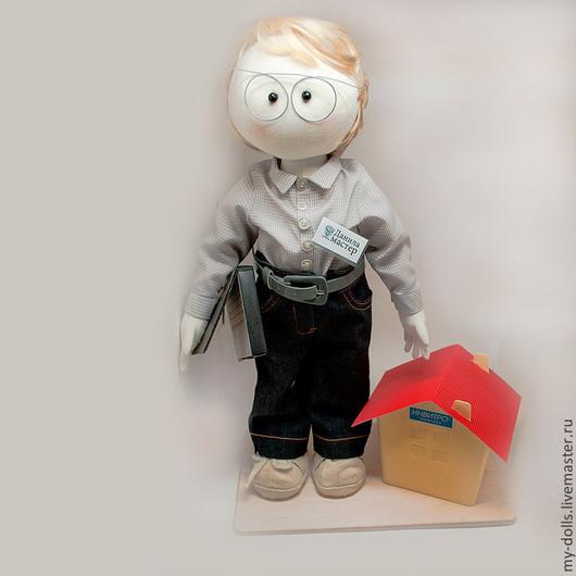 Портретные куклы ручной работы. Ярмарка Мастеров - ручная работа. Купить Данила. Портретная кукла. Handmade. Портретная кукла, разноцветный