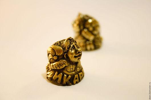 """Колокольчики ручной работы. Ярмарка Мастеров - ручная работа. Купить Наперсток """"Икарсон"""". Handmade. Золотой, наперстки"""