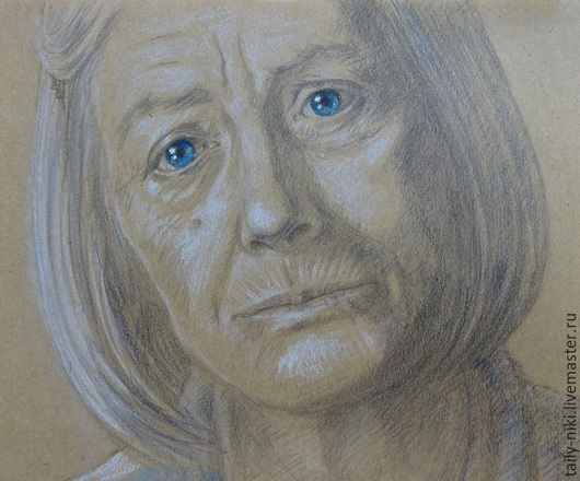Люди, ручной работы. Ярмарка Мастеров - ручная работа. Купить Портрет. Handmade. Разноцветный, портрет, портрет по фото, портрет в подарок