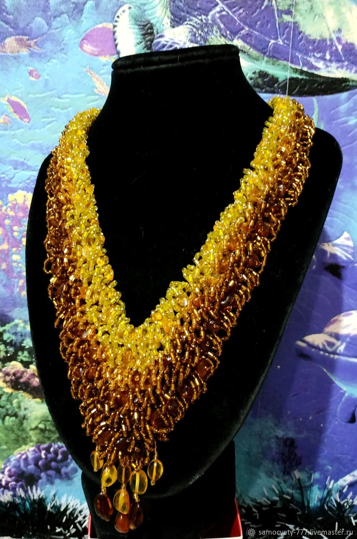 Beautiful necklace'amber', Necklace, Feodosia,  Фото №1