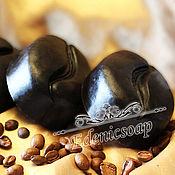 """Скрабы ручной работы. Ярмарка Мастеров - ручная работа """"Кофейное зерно"""" скраб мыло ароматный косметика ручная работа. Handmade."""