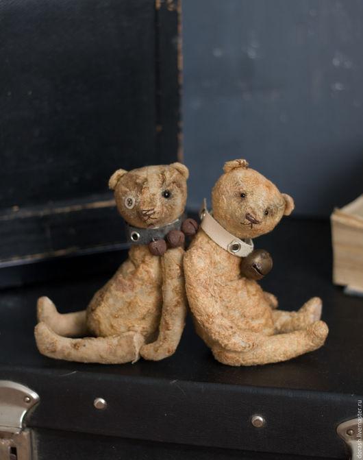 Мишки Тедди ручной работы. Ярмарка Мастеров - ручная работа. Купить Два брата. Handmade. Коричневый, мишка тедди, плюш