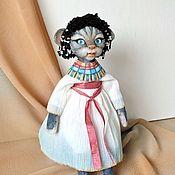Куклы и игрушки handmade. Livemaster - original item Felt toy: felted cat Sphinx. Handmade.