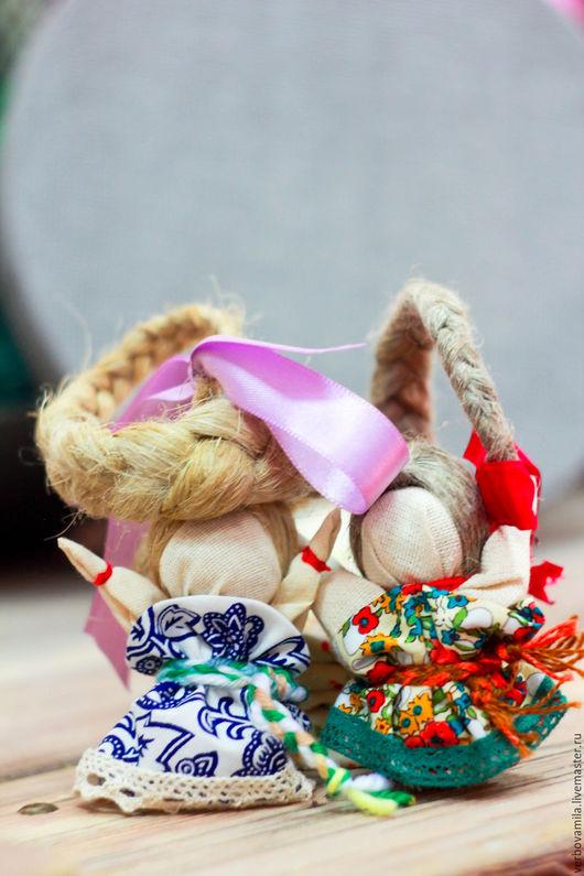 Народные куклы ручной работы. Ярмарка Мастеров - ручная работа. Купить Кукла Счастье. Оберег на удачу. Handmade. Оберег, счастье