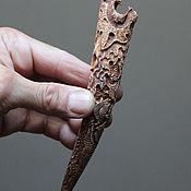 Фен-шуй и эзотерика ручной работы. Ярмарка Мастеров - ручная работа Талисман защитный- Волк (рог лося) о68. Handmade.