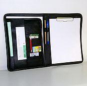 Сумки и аксессуары handmade. Livemaster - original item Leather folder 129. Handmade.