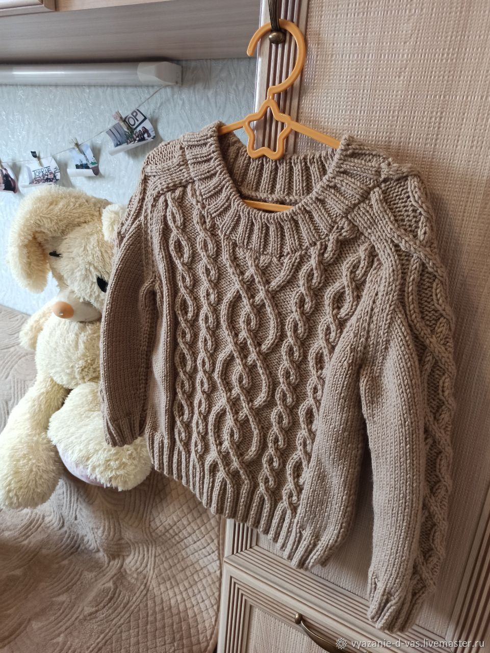 Knitted jumper for a boy or girl for 4 years, Sweaters and jumpers, Voronezh,  Фото №1