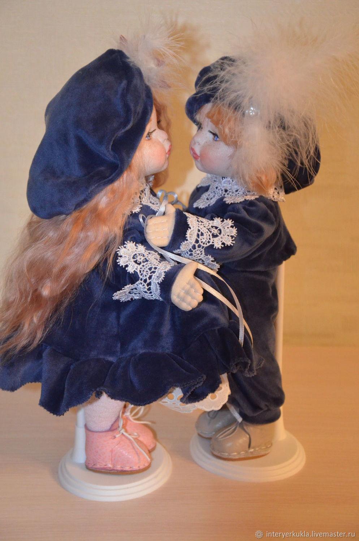 Куклы ручной работы! Куклы неразлучные! ! Сладкая парочка!, Будуарная кукла, Коломна,  Фото №1