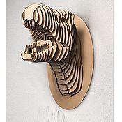 Дизайн и реклама ручной работы. Ярмарка Мастеров - ручная работа Dino (голова динозавра). Handmade.
