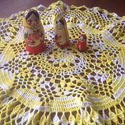 Для дома и интерьера ручной работы. Ярмарка Мастеров - ручная работа Салфетка крючком Вино из одуванчиков. Handmade.