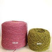 Пряжа ручной работы. Ярмарка Мастеров - ручная работа Soft Donegal Tweed-100 меринос. Handmade.