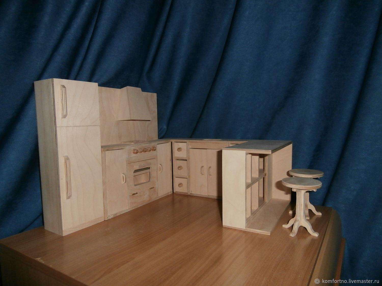 Kitchen corner, Doll furniture, Belgorod,  Фото №1