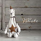 Куклы и игрушки ручной работы. Ярмарка Мастеров - ручная работа Мишка White Коллекция Believe. Handmade.