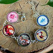 Украшения handmade. Livemaster - original item Bracelet Gravity Falls, Gravity Falls. Handmade.