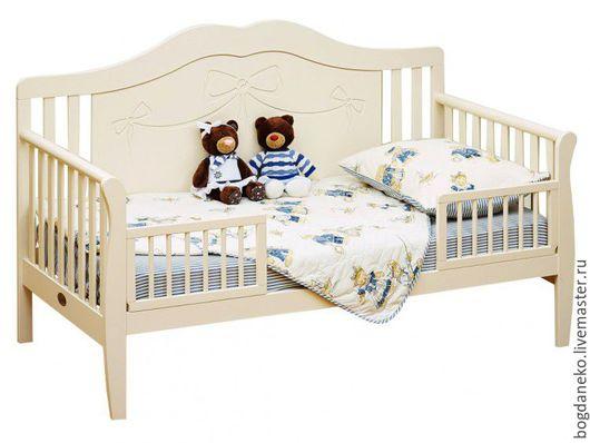 Мебель ручной работы. Ярмарка Мастеров - ручная работа. Купить Кроватка детская. Handmade. Кровать из дерева, массив дерева