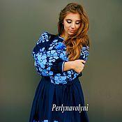 Одежда ручной работы. Ярмарка Мастеров - ручная работа Платье женское  СЖ 0409. Handmade.