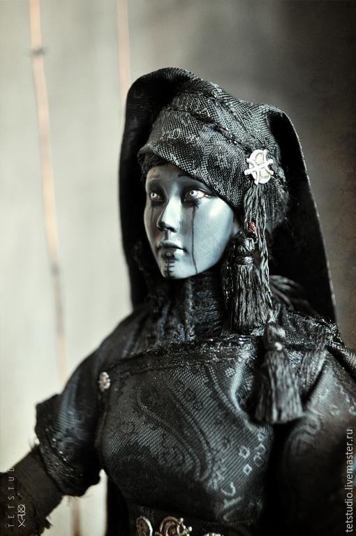 Эксклюзивная коллекционная кукла ручной работы, ведьма, мистика, фольклор, псевдо-документалистика,