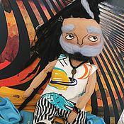 Куклы Тильда ручной работы. Ярмарка Мастеров - ручная работа Куклы Тильда: Модный парень. Handmade.